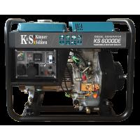 Дизель генератор KS 6000DE