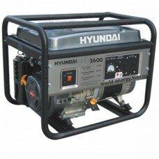 Бензогенератор HDD 3600 Hyundai