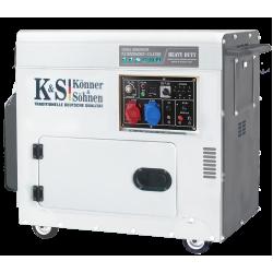 Дизель генератор KS 9200HDES-1/3 ATSR